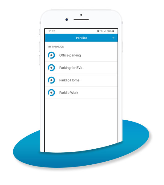 Smart parking app - Control and Share digital keys