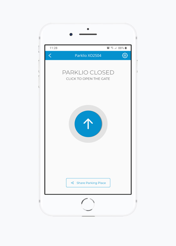 Parklio™ Connect App gate control
