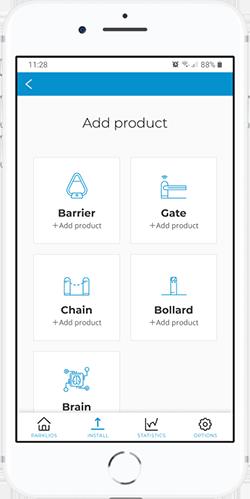 Parklio mobile application