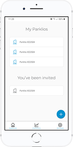 Manage all your smart parking protection products with Parklio