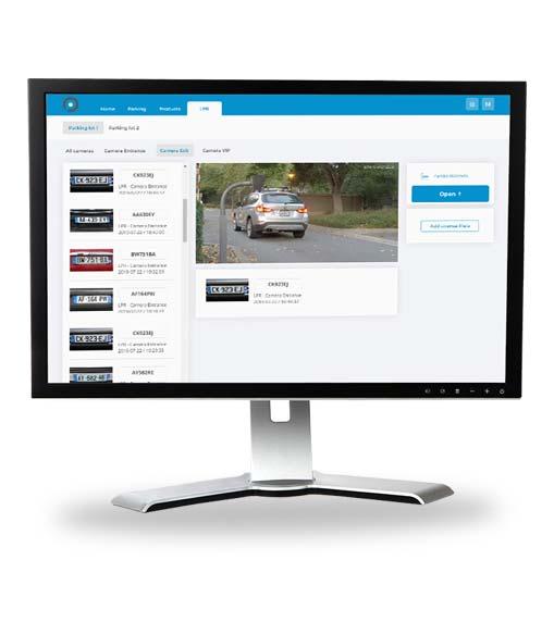 Parklio Content Managment System for LPR