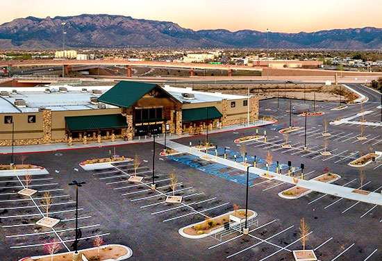 Shopping Malls & Supermarkets parking solutions